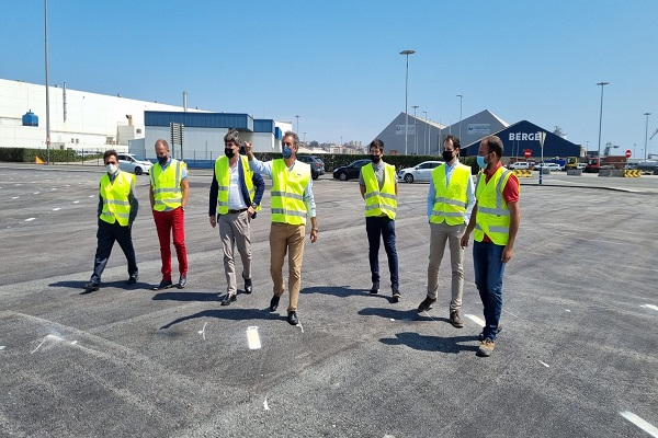 El Puerto de Santander finaliza su nuevo aparcamiento de vehículos ligeros