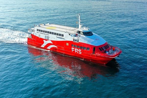 FRS estrena su ruta entre Ibiza y Formentera