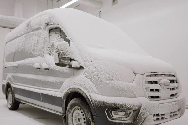 Ford E-Transit tests tortura
