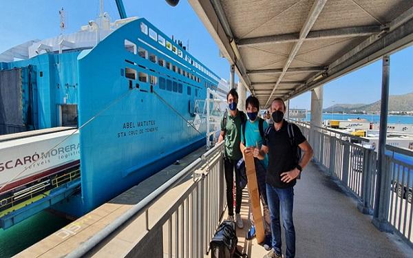 Fundación Valenciaport y Baleària avanzan en el proyecto LNGHIVE2