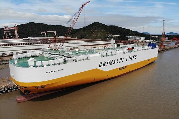 Grimaldi añade el portacoches Grande California a su flota