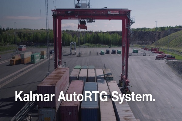Kalmar presenta nuevas grúas pórtico sobre neumáticos