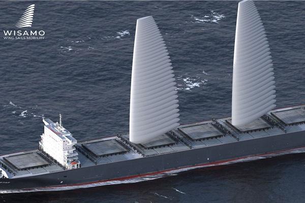 Michelin diseña sistema de velas para descarbonizar transporte marítimo