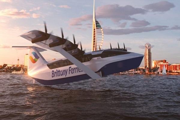Planeadores marinos eléctricos para un transporte marítimo sostenible
