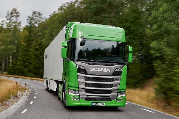 Scania Green Truck