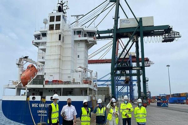 Wec Lines consolida ruta de contenedores entre Bilbao, Europa y Reino Unido