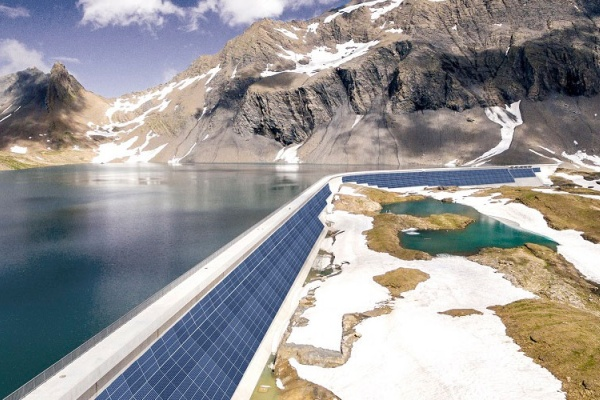 energia solar alpes