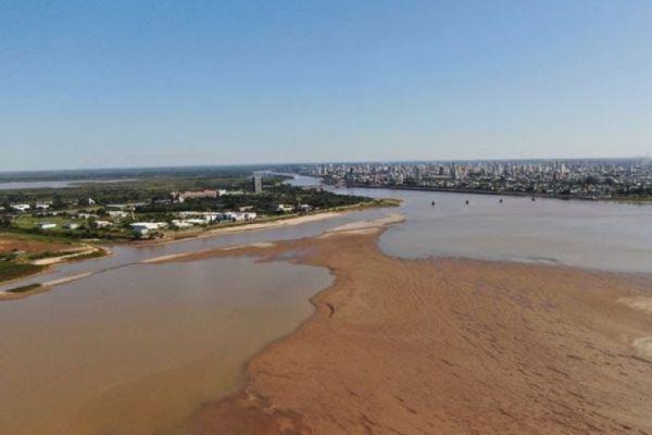 rio parana sequia