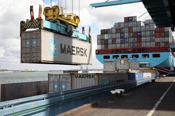 Maersk modificará su red de servicios internacionales en Asia