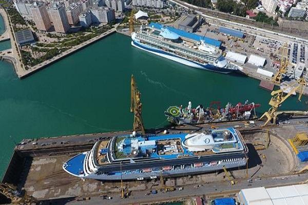 Navantia invertirá 30 millones de euros en astillero San Fernando
