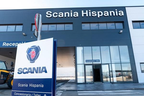 Scania nuevas instalaciones Madrid vídeo