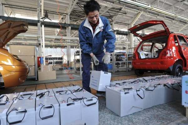 china baterias