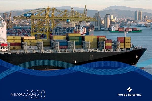 El Puerto de Barcelona publica su Memoria Anual 2020