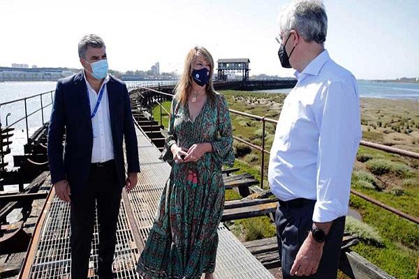 El Puerto de Huelva recibe cinco propuestas para la rehabilitación del muelle Tharsis