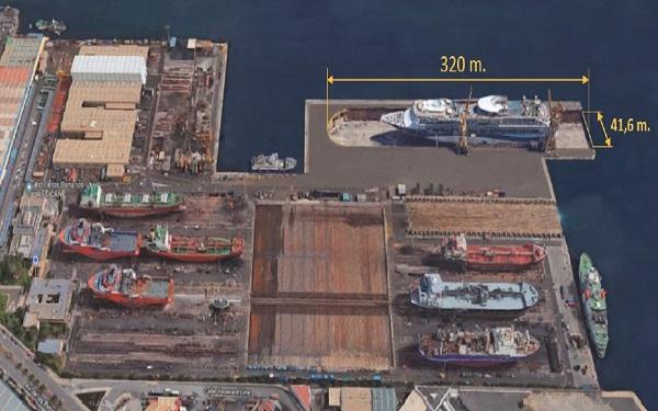 El Puerto de Las Palmas estudiará el impacto medioambiental del dique Astican