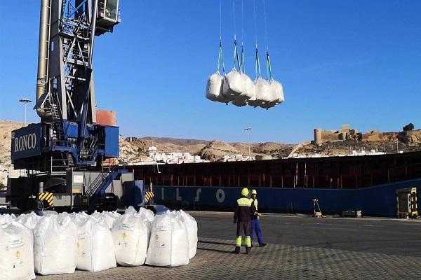 Los puertos de Almería y Carboneras aumentan el tráfico un 41% en julio