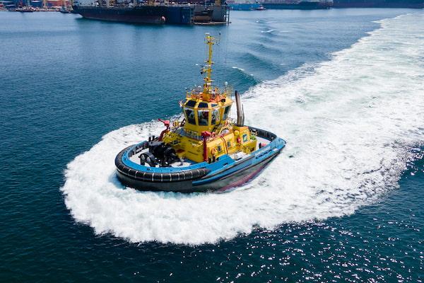 SAAM refuerza sus servicios en Panamá con el nuevo remolcador de última generación