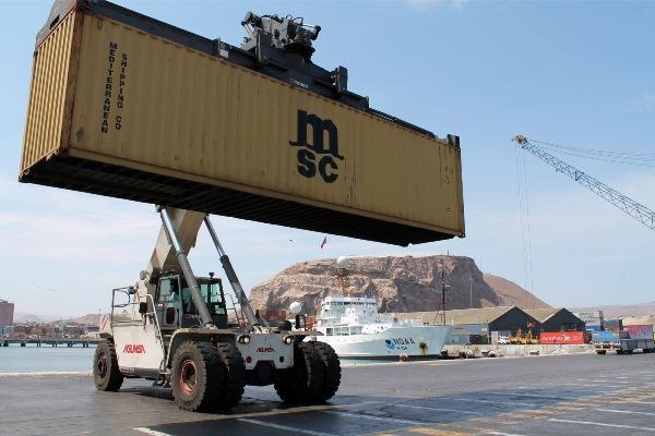 puerto de arica carga boliviana