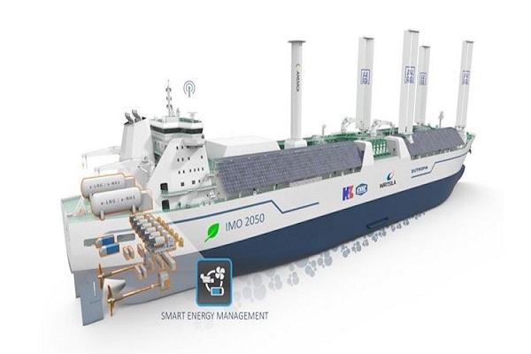 ABS y Wärtsilä diseñarán un buque eléctrico multi-fuel para transporte de GNL