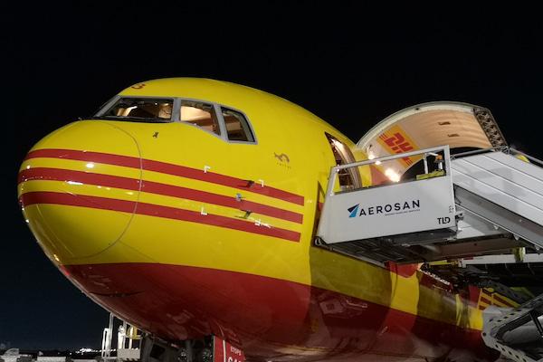 Aerosan prestará servicios de asistencia en tierra a DHL Aviation