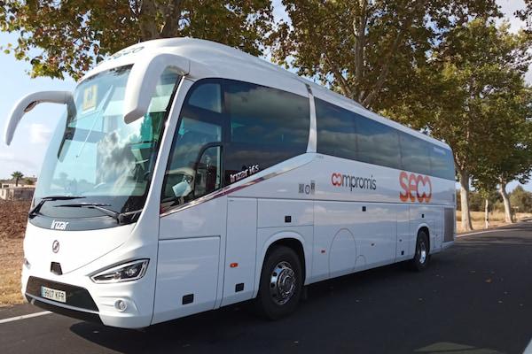 Autocares Emilio Seco, del grupo Moventis, invierte 4 millones de euros en su nueva flota híbrida