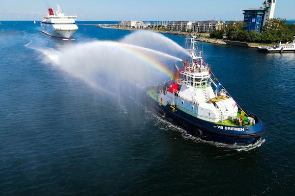 Boluda Towage inicia los servicios de remolque en el puerto alemán de Rostock