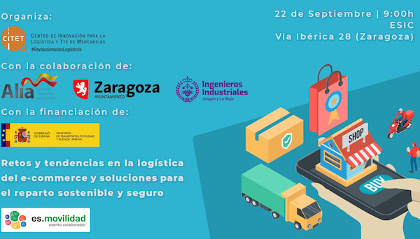 El CITET organiza unas jornadas sobre las tendencias en la logística del e-commerce y soluciones para el reparto sostenible