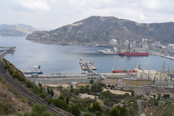 El Puerto de Cartagena realizará el desdoblamiento del vial principal de acceso a Escombreras