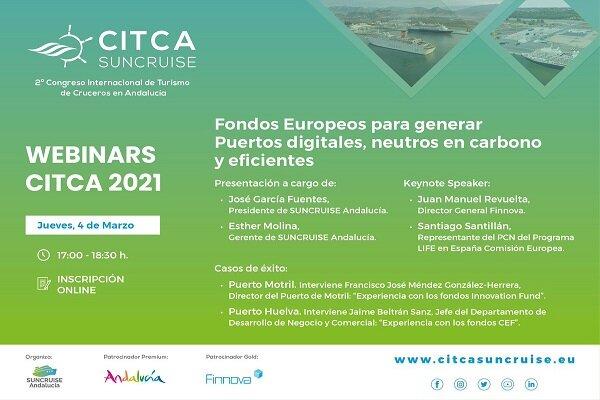 El Puerto de Huelva aborda la estrategia del sector cruceros en un webinar