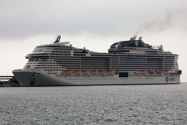 El Puerto de Málaga recibe la escala inaugural del MSC Virtuosa