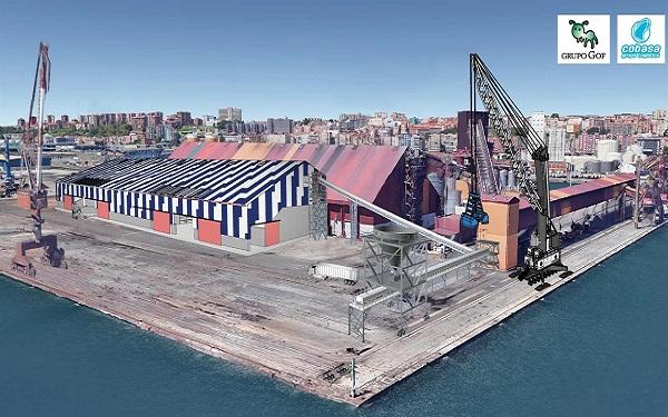 El Puerto de Santander comienza las obras de la nueva terminal de fertilizantes