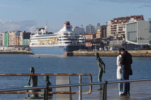 El Puerto de Santander reinicia el tráfico de cruceros tras la pandemia