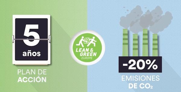 El grupo Eulen se une a la iniciativa de Lean & Green