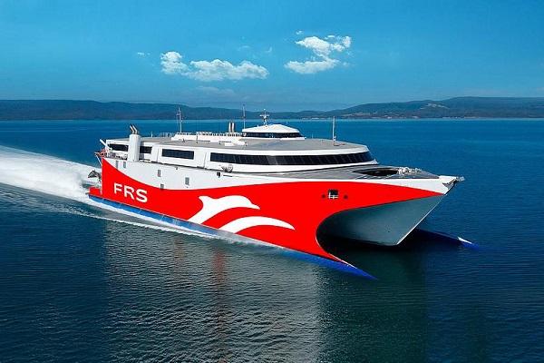 FRS Iberia destina el fast ferry 'Levante Jet' al trayecto Ceuta-Algeciras