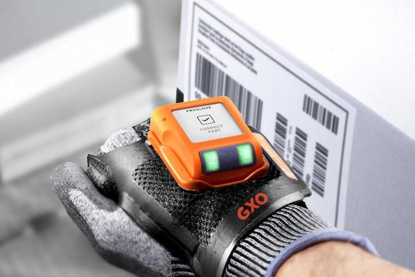 GXO lanza unos escáneres 'wearables' que aumentan la productividad