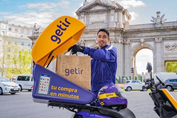 Getir España envíos ultrarrápidos