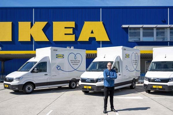 Ikea transporte sostenible
