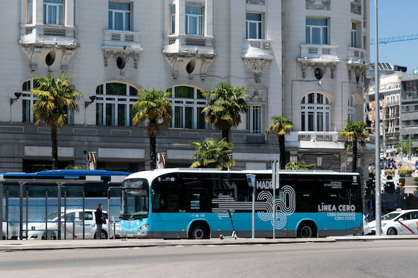 La EMT de Madrid suma 30 autobuses eléctricos más a su flota