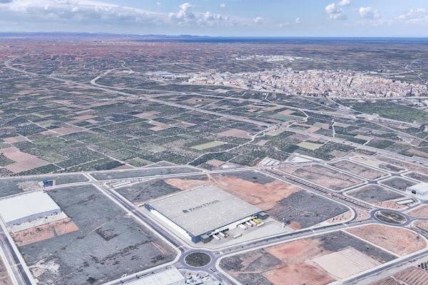 Panattoni anuncia un proyecto logístico con innovaciones tecnológicas y de sostenibilidad en Alzira, Valencia