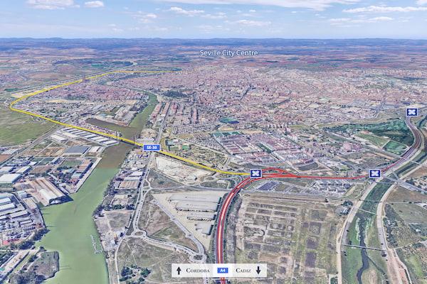 Panattoni anuncia un proyecto logístico de 72.000 m2 de SBA en Sevilla