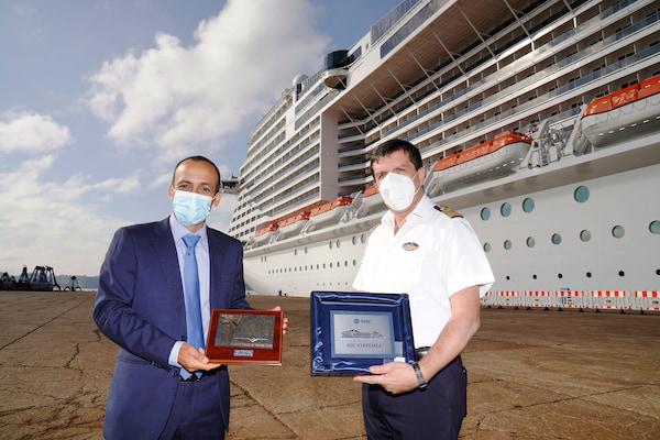 El Puerto de Ferrol recibe al mayor crucero de esta temporada