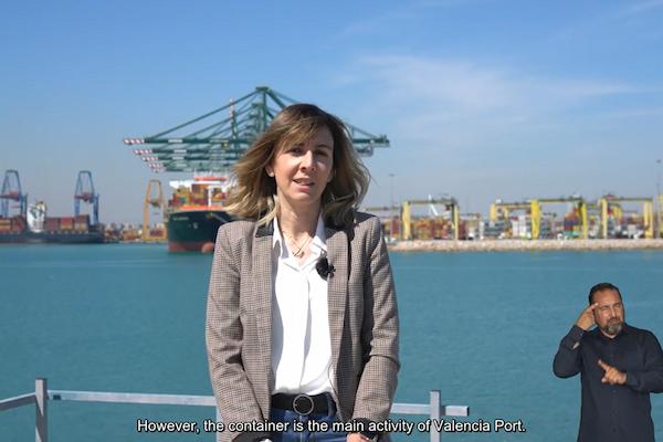 Valenciaport apuesta por la inclusión a través de la integración del lenguaje de signos en sus vídeos divulgativos