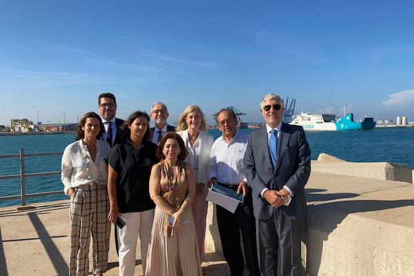 Valenciaport recibe la visita del embajador de Portugal