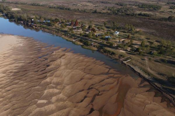 bajante rio parana