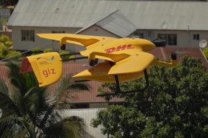 DHL paraliza la mensajería con drones