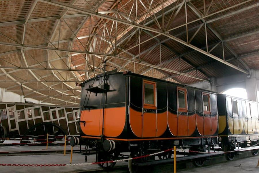 Museo del ferrocarril cataluña
