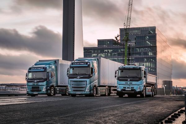 Evento de Volvo sobre camiones eléctricos