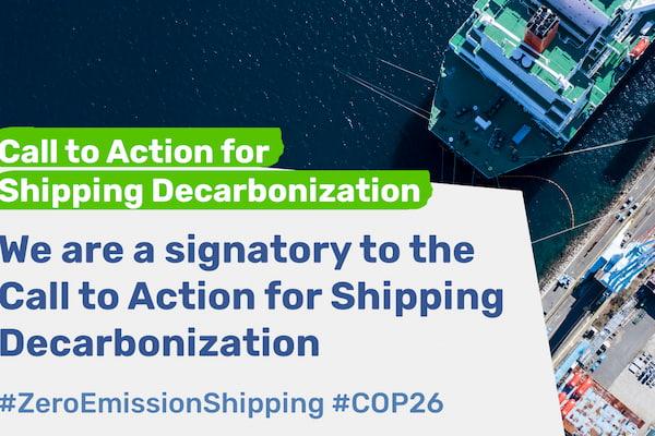 El Puerto de Algeciras se suma a la iniciativa Call to action for Shipping Decarbonisation