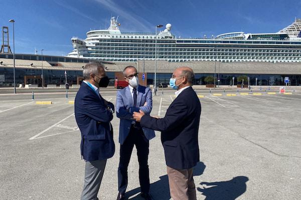 El Puerto de Málaga recibe la visita del Presidente de Puertos del Estado
