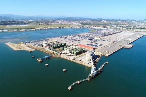 El Puerto de Santander avanza en las obras del muelle Raos 9